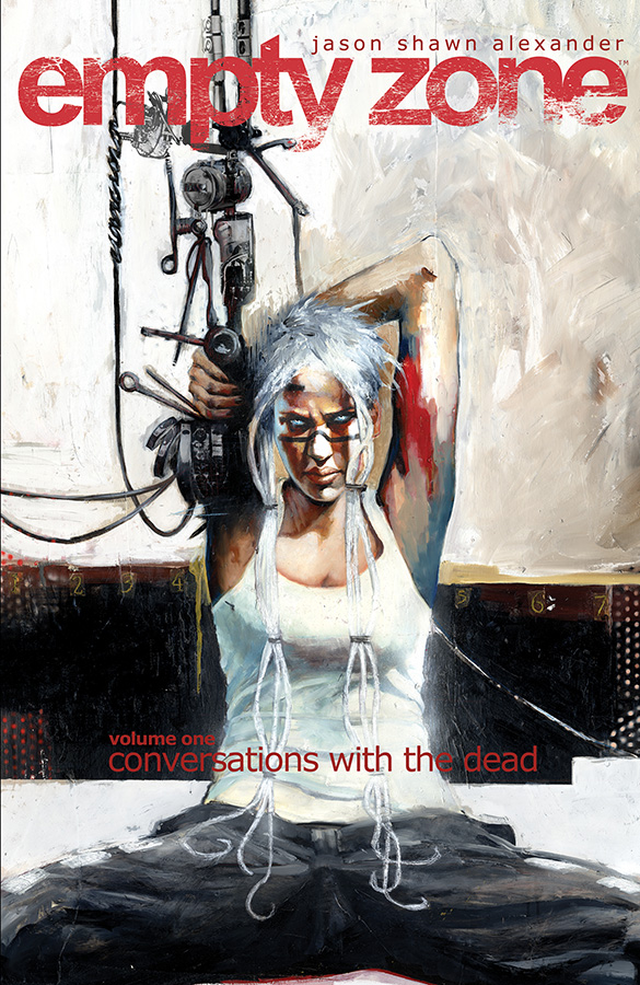 EMPTY ZONE TP VOL 01 CONVERSATIONS WITH THE DEAD (OCT150531)