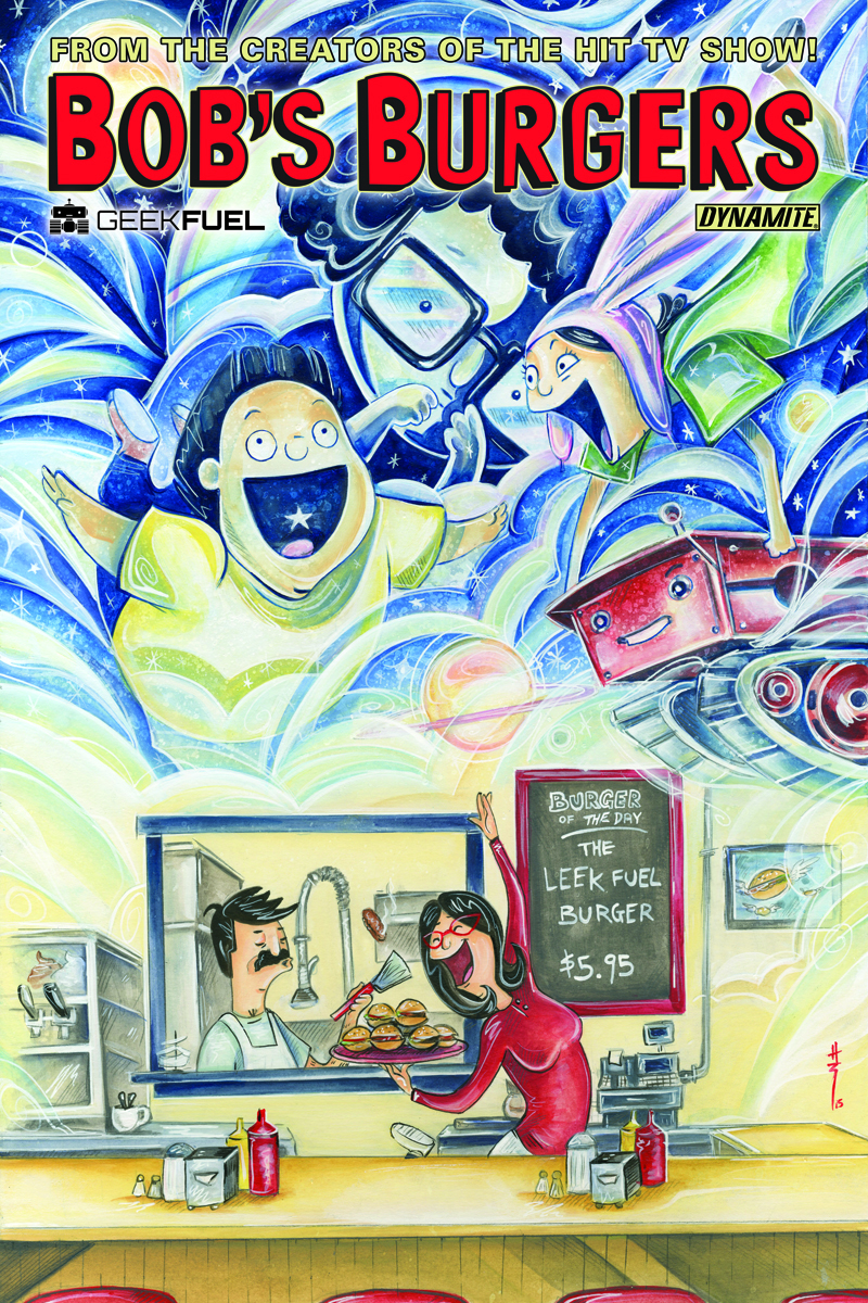DF BOBS BURGERS ONGOING #3 GEEK FUEL EXC