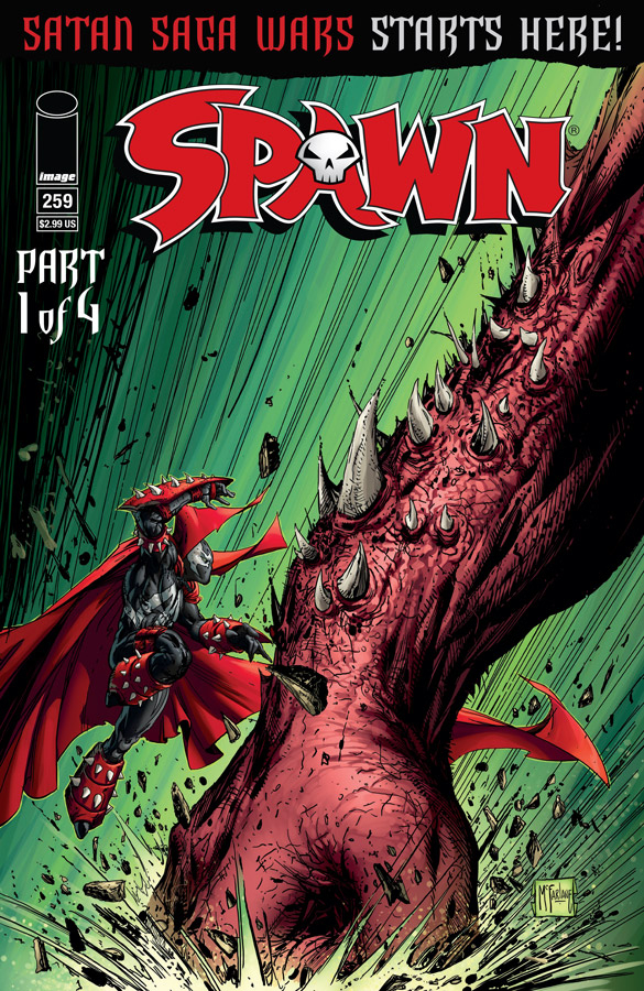 SPAWN #259 CVR A MCFARLANE & FRIENDS