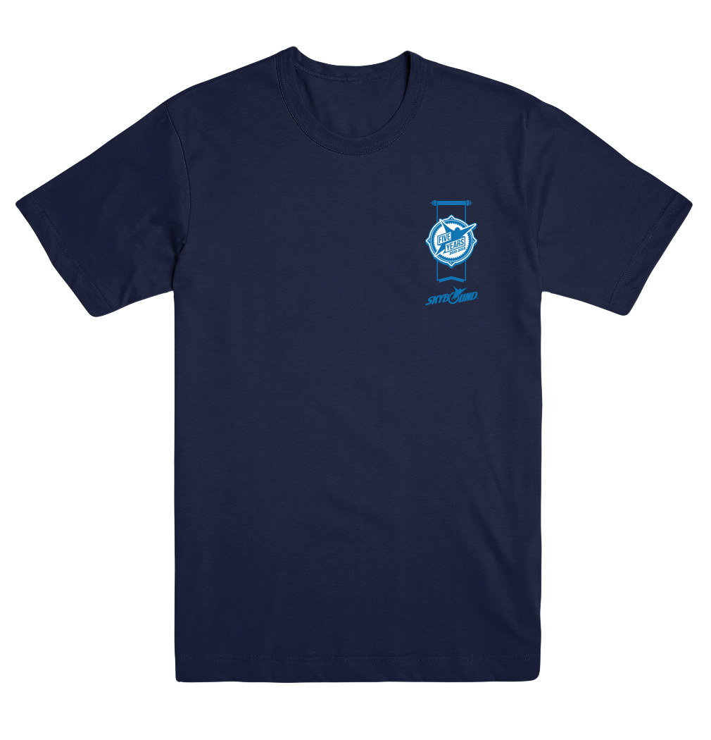 SKYBOUND 5TH ANNV UNISEX XL T/S