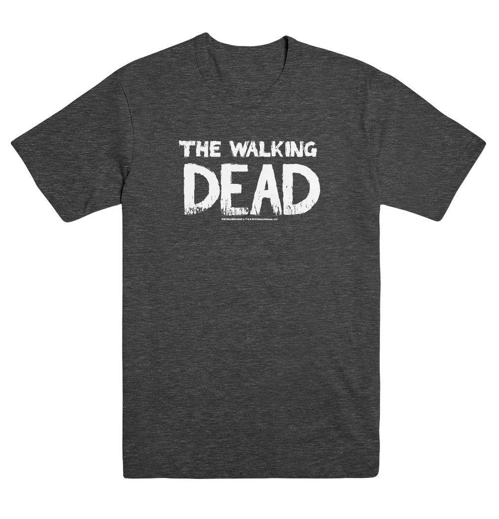 WALKING DEAD LOGO UNISEX MD T/S