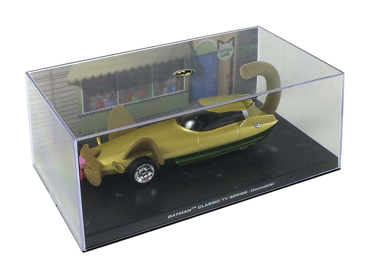 DC BATMAN AUTO FIG MAG #79 CLASSIC TV CATMOBILE