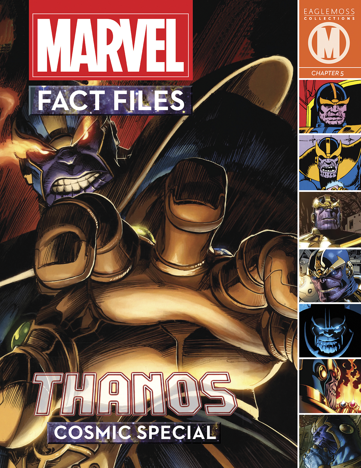 MARVEL FACT FILES COSMIC SPECIAL #3 THANOS