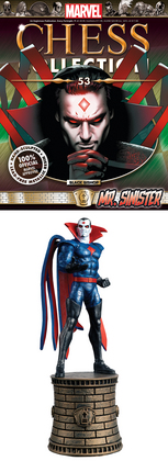 MARVEL CHESS FIG COLL MAG #53 MR SINISTER BLACK BISHOP