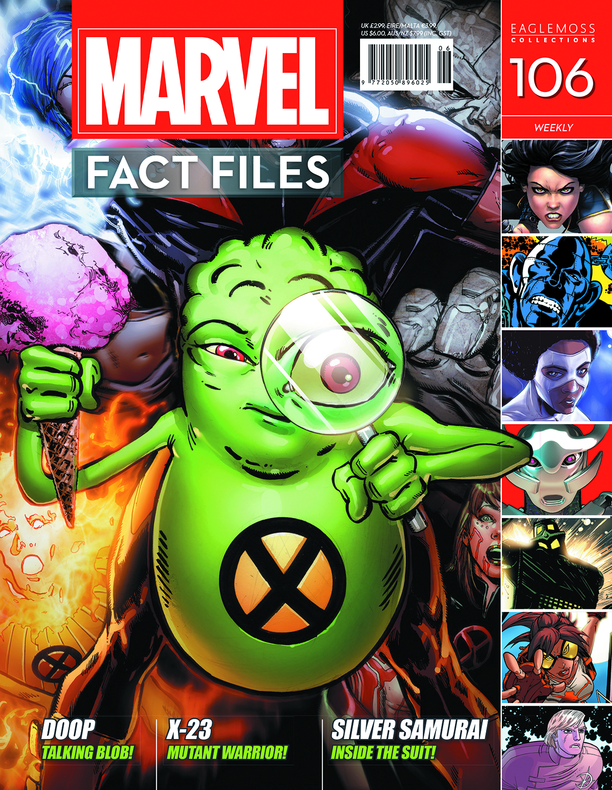 MARVEL FACT FILES #106 DOOP COVER
