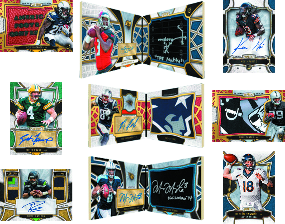 TOPPS 2015 SUPREME FOOTBALL T/C BOX