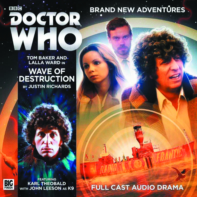 DOCTOR WHO 4TH DOCTOR ADV WAVE OF DESTRUCTION AUDIO CD