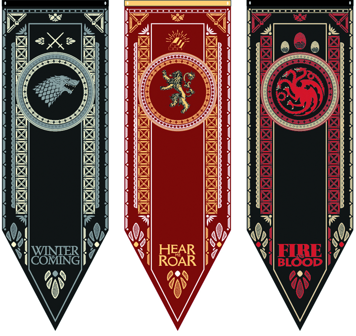 Aug158059 Game Of Thrones Targaryen Tournament Banner