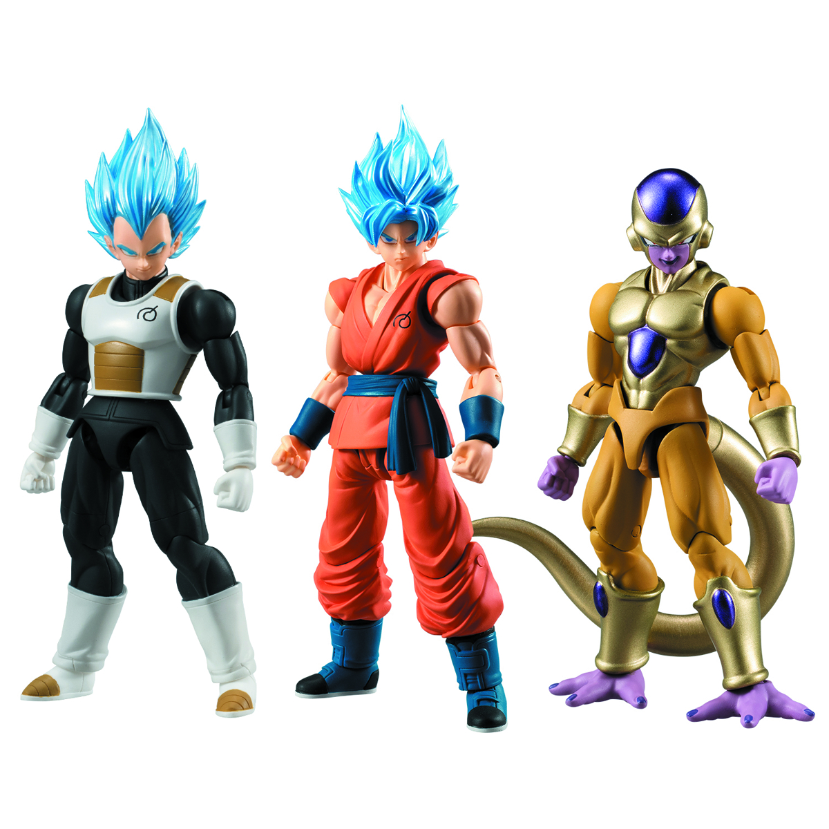 DBZ SHODO 2 DRAGON BALL SUPER TRAD FIG 6PC ASST