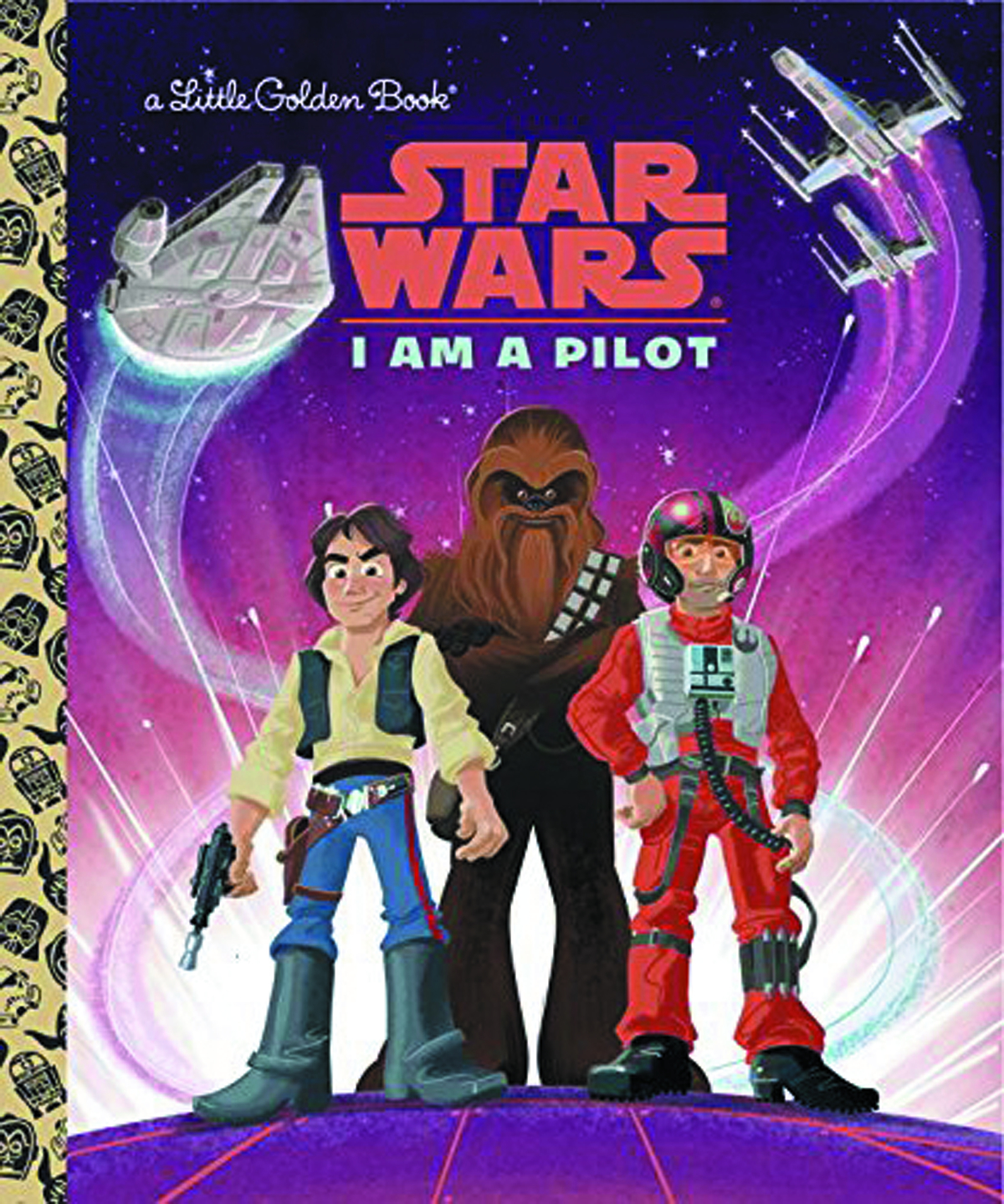 STAR WARS LITTLE GOLDEN BOOK I AM PILOT
