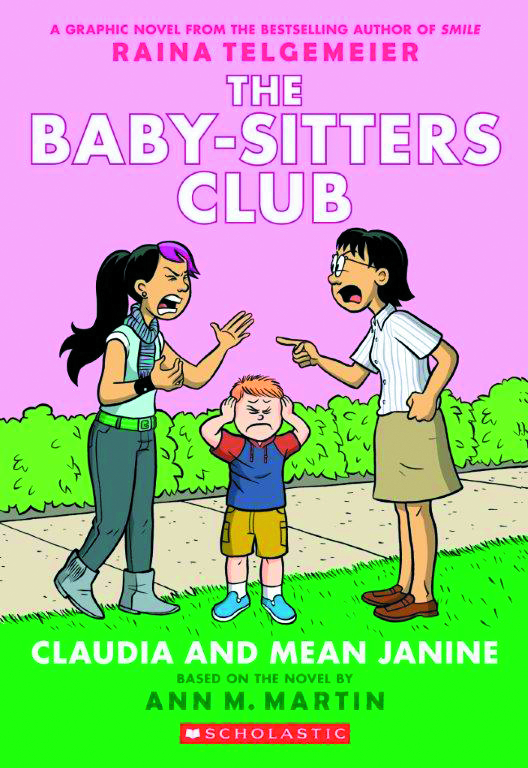 BABY SITTERS CLUB COLOR ED GN HC VOL 04 CLAUDIA & MEAN JANIN