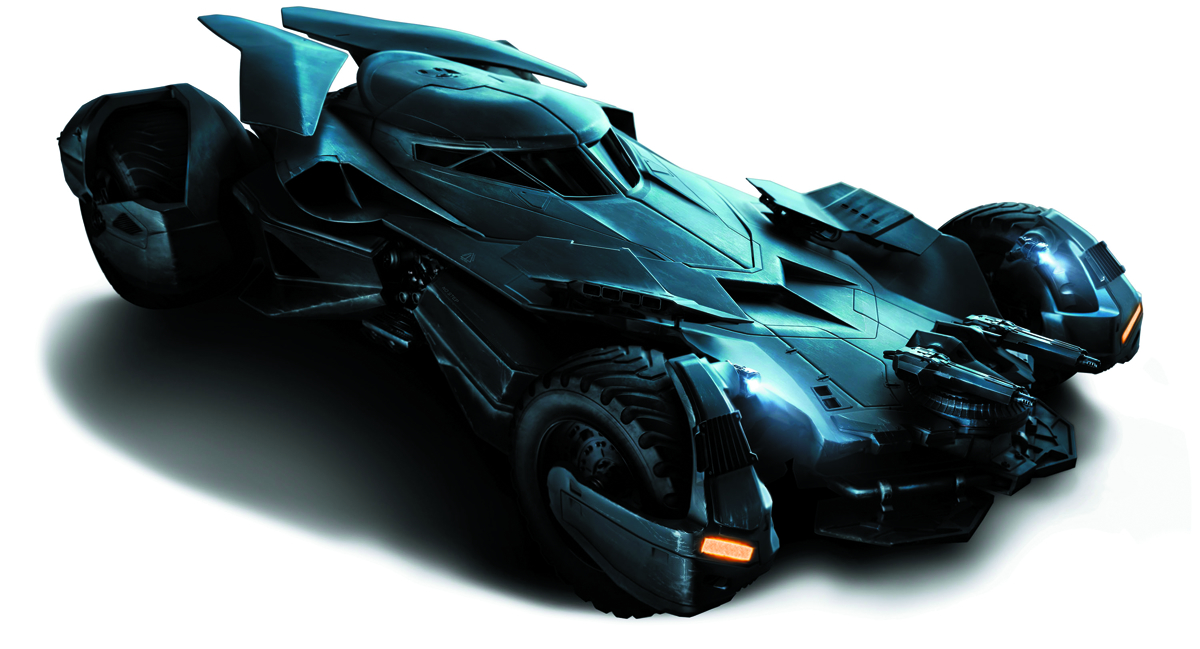 SUICIDE SQUAD 1/25 SCALE BATMOBILE MOD KIT