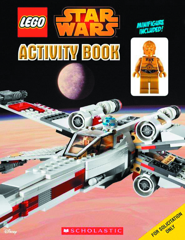 LEGO STAR WARS ACTIVITY BOOK WITH FIGURE #1