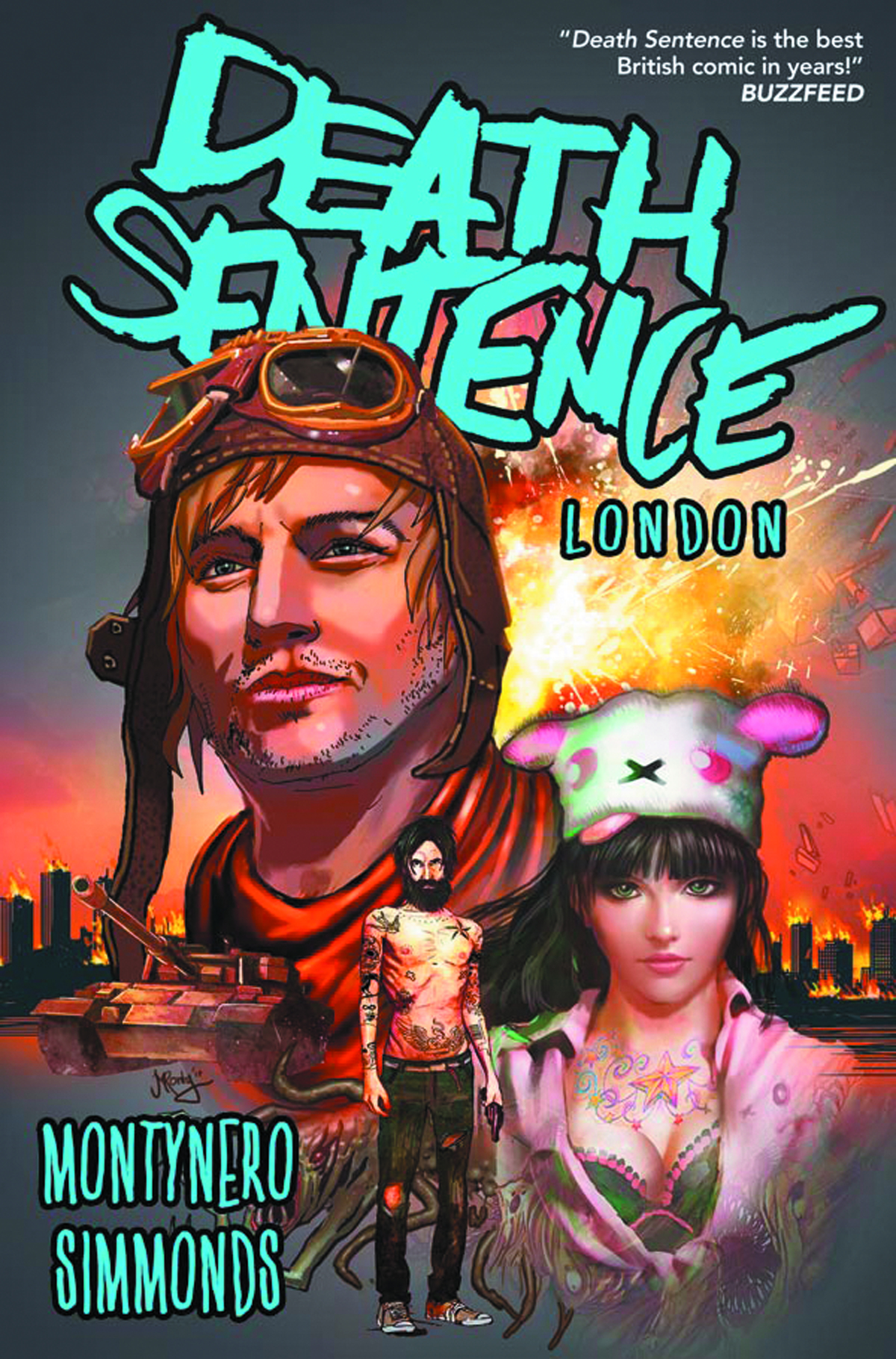 DEATH SENTENCE TP VOL 02 LONDON
