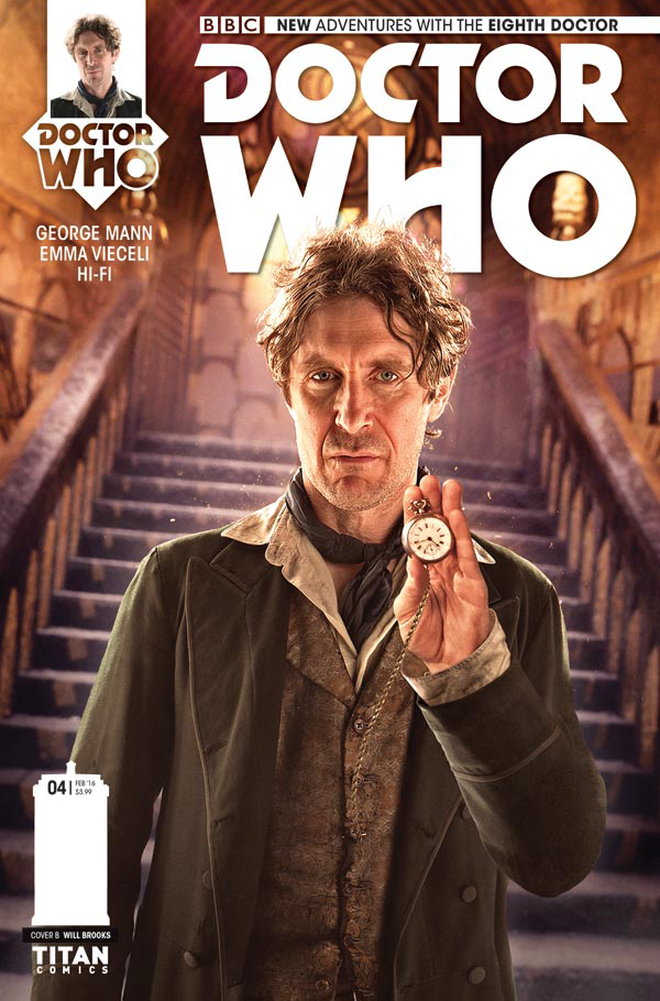 DOCTOR WHO 8TH #4