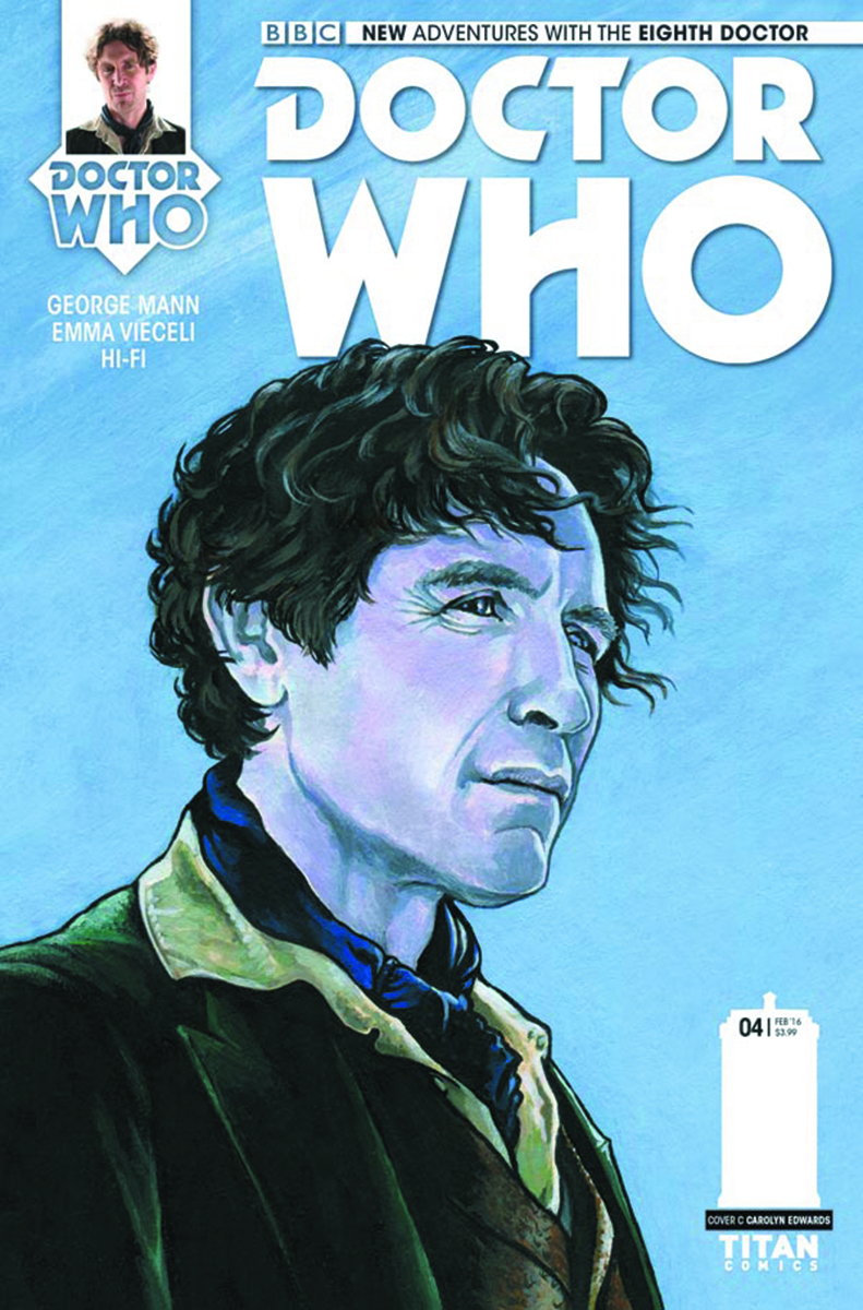 DOCTOR WHO 8TH #4 (OF 5) VAR EDWARDS