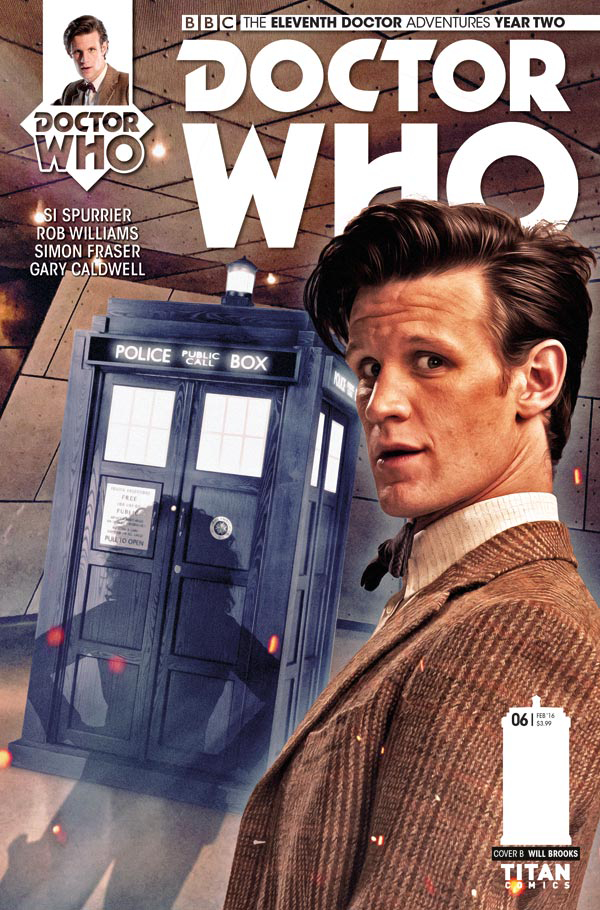 DOCTOR WHO 11TH YEAR TWO #6 BROOKS SUBSCRIPTION PHOTO