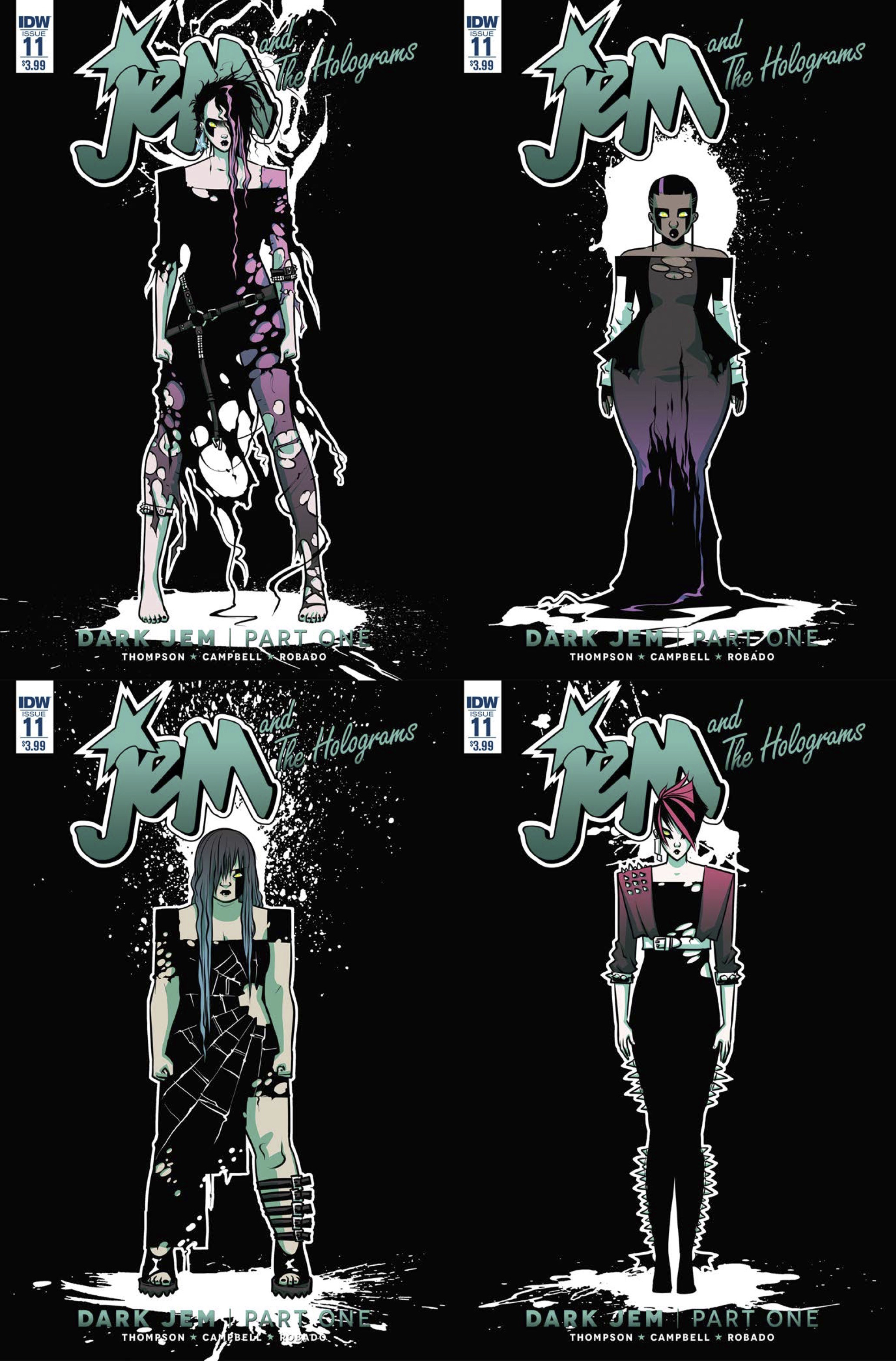 JEM & THE HOLOGRAMS #11