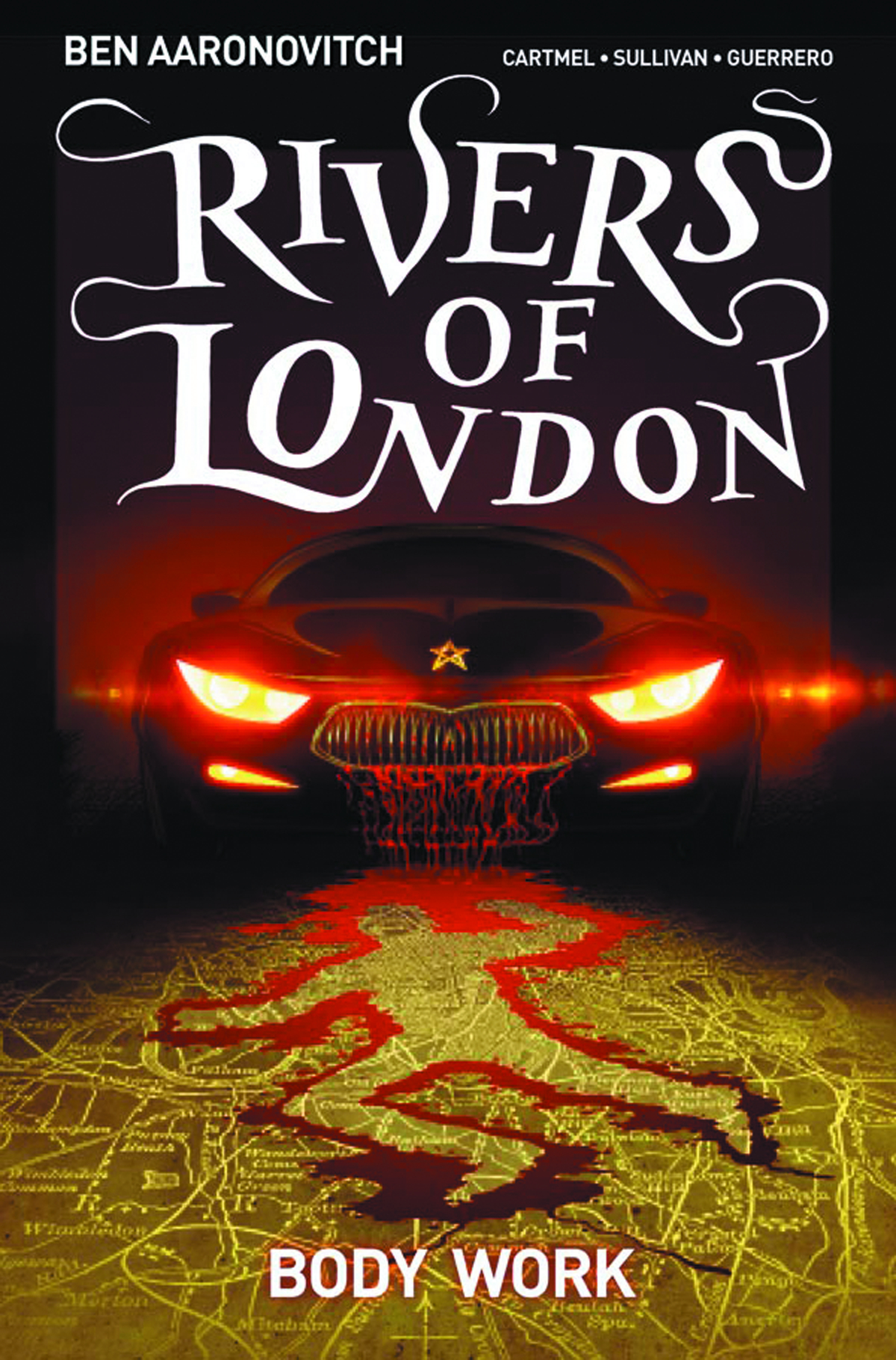 RIVERS OF LONDON TP VOL 01 BODY WORK