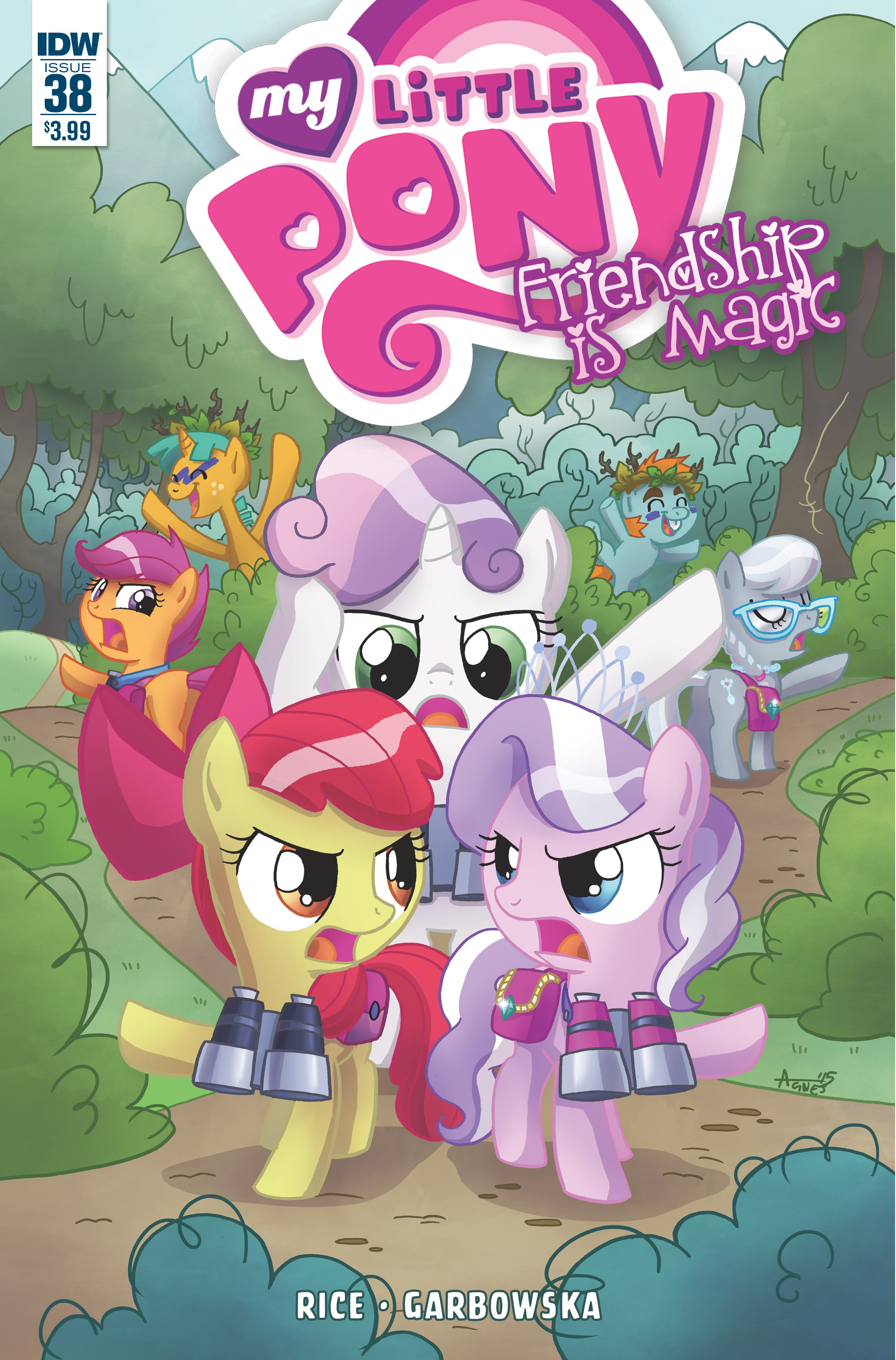 MY LITTLE PONY FRIENDSHIP IS MAGIC #38