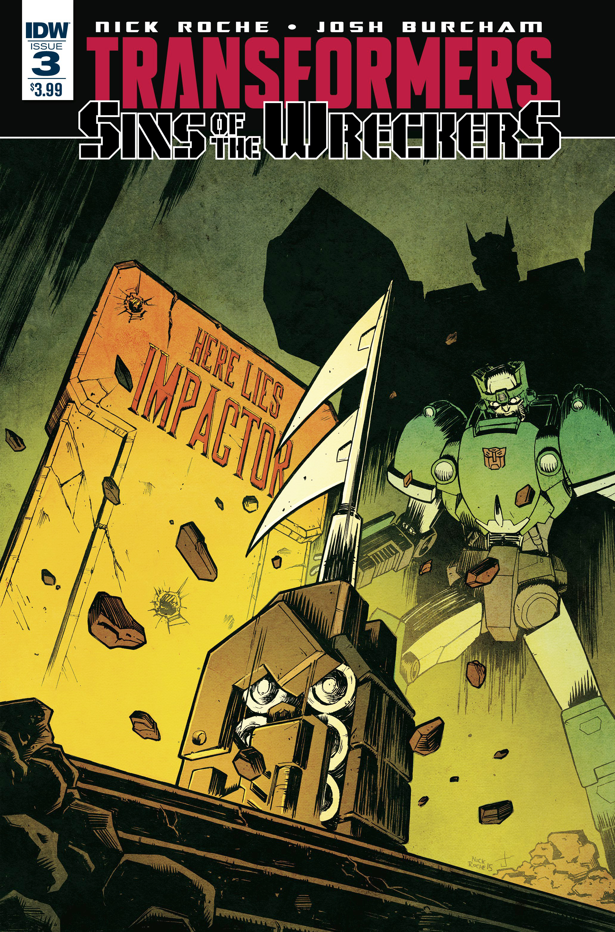 TRANSFORMERS SINS OF WRECKERS #3