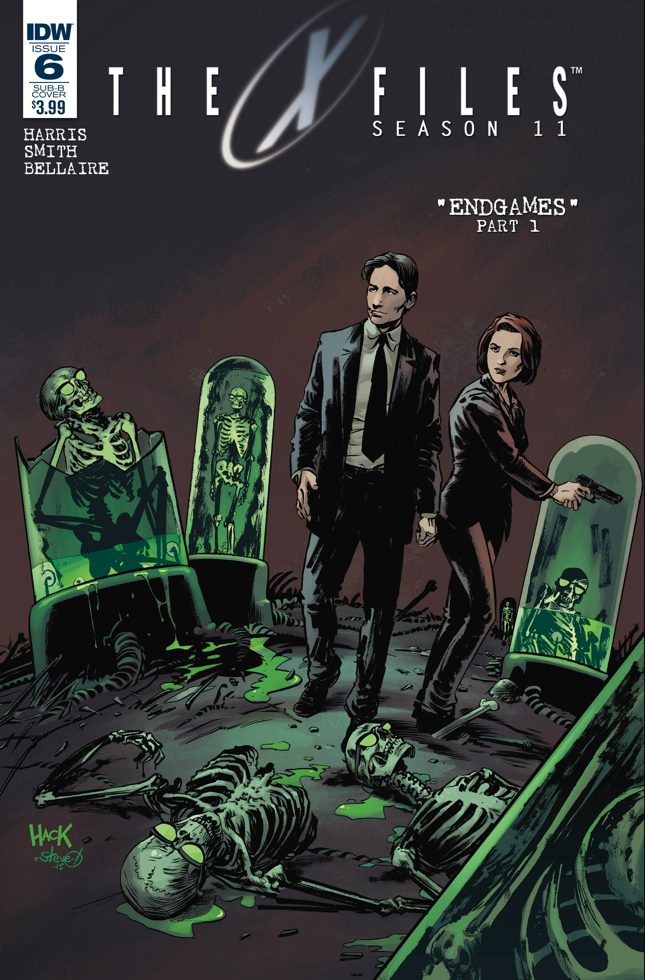 X-FILES SEASON 11 #6 SUBSCRIPTION