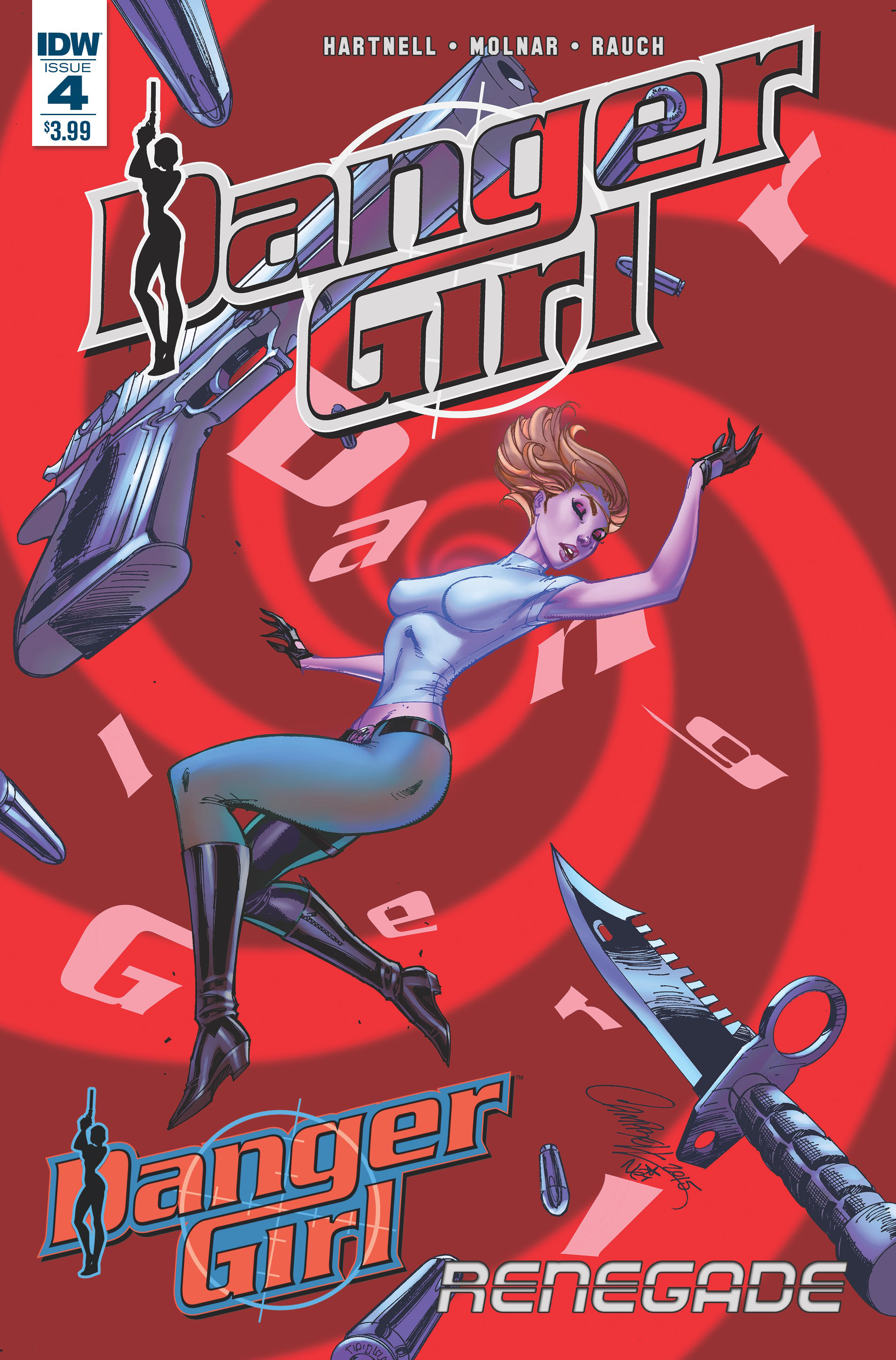DANGER GIRL RENEGADE #4