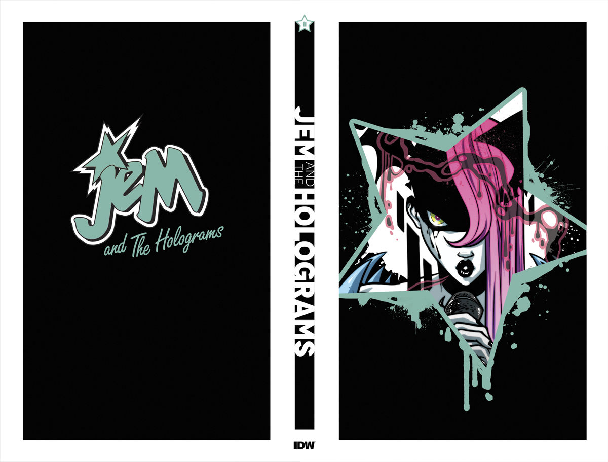 JEM & THE HOLOGRAMS #11 COMP METALLIC FOIL BOX SET