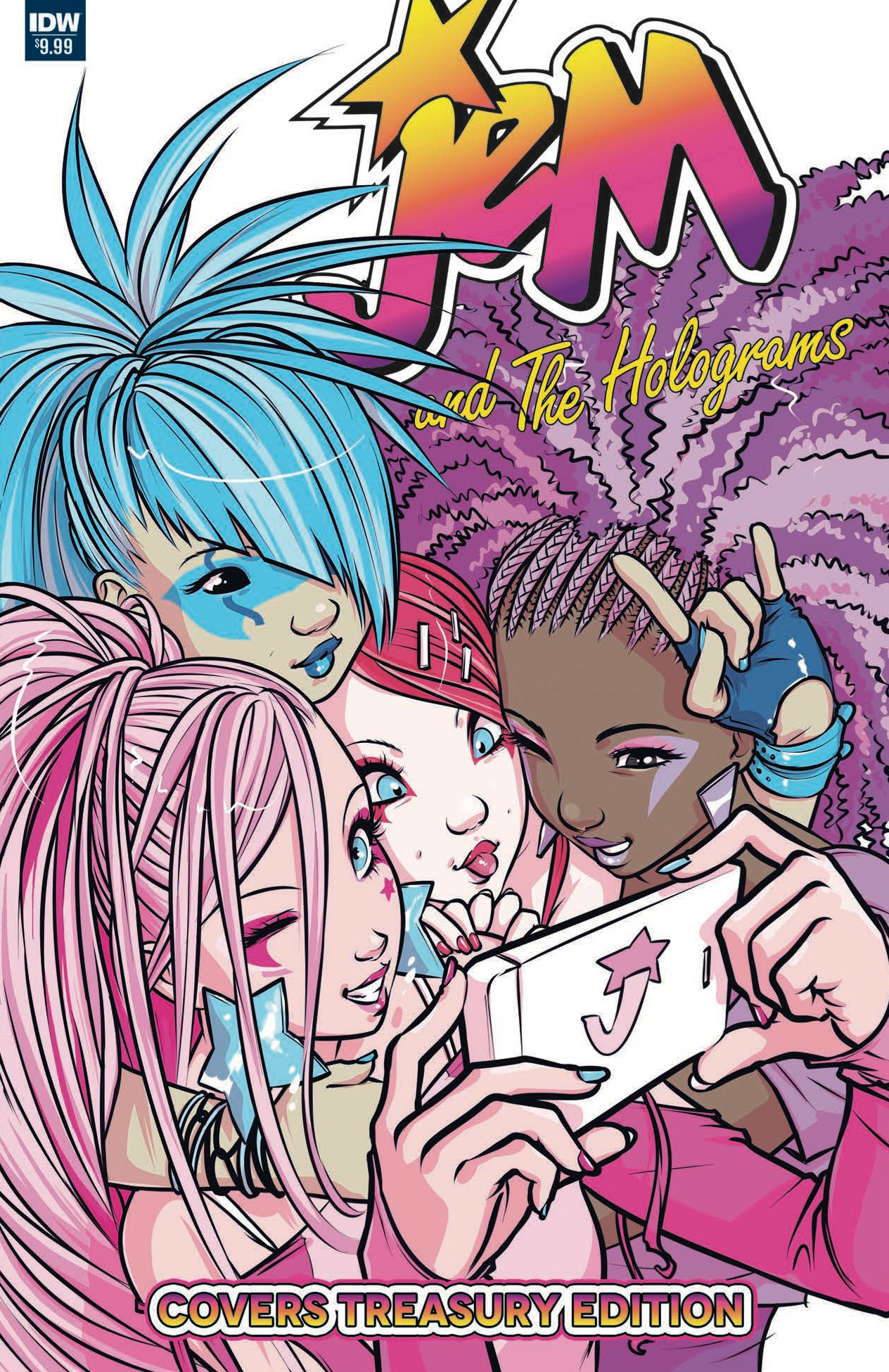 JEM & THE HOLOGRAMS COVERS TREASURY ED #1