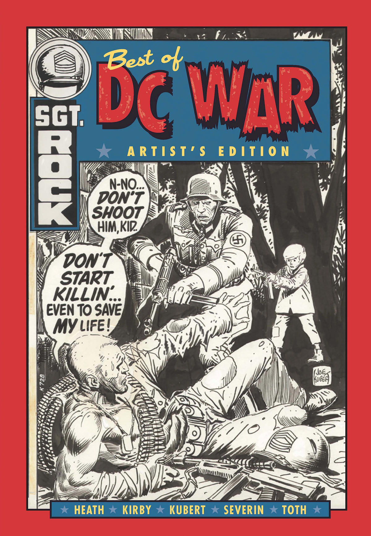 BEST OF DC WAR ARTIST ED HC (Net)