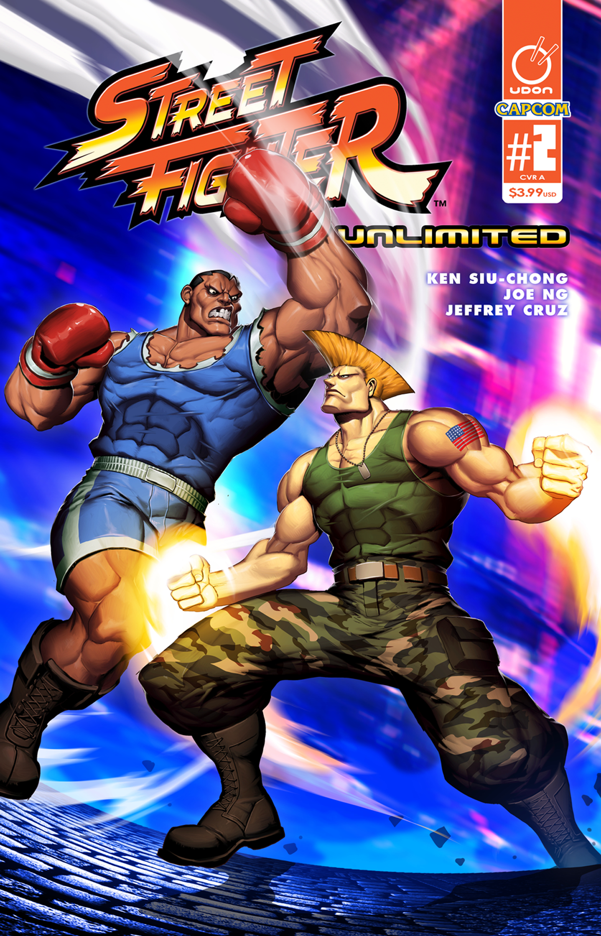 STREET FIGHTER UNLIMITED #2 CVR A GENZOMAN STORY