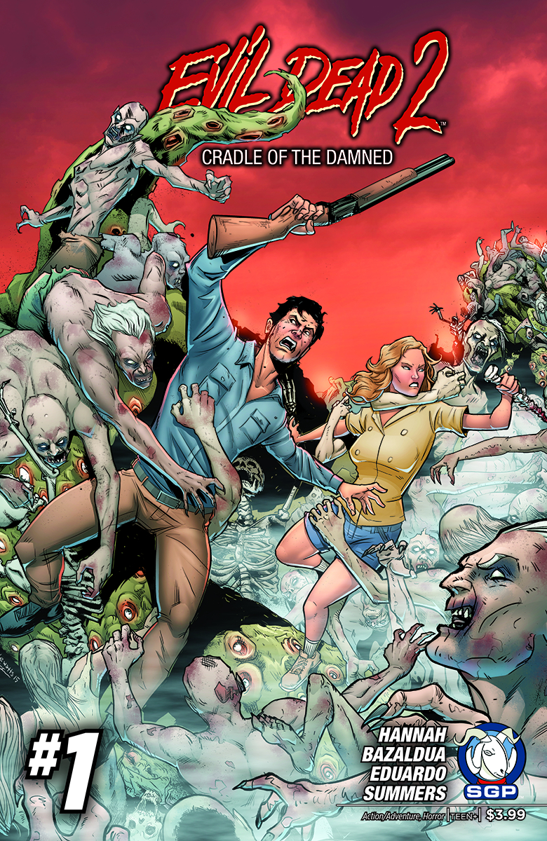 EVIL DEAD 2 CRADLE OF THE DAMNED #1