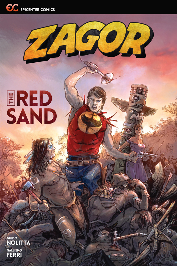 ZAGOR RED SAND GN