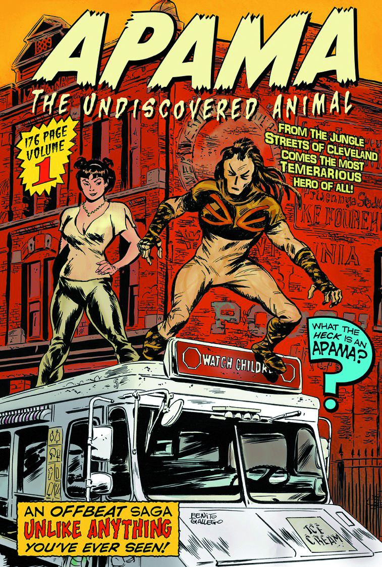 APAMA UNDISCOVERED ANIMAL TP VOL 01