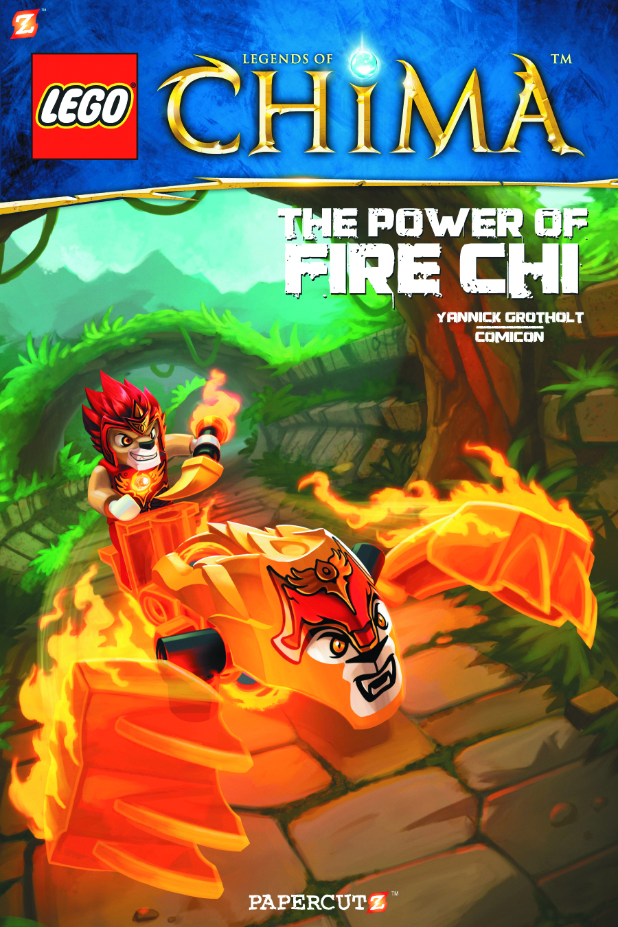 LEGO LEGENDS OF CHIMA GN VOL 06 PLAYING WITH FIRE