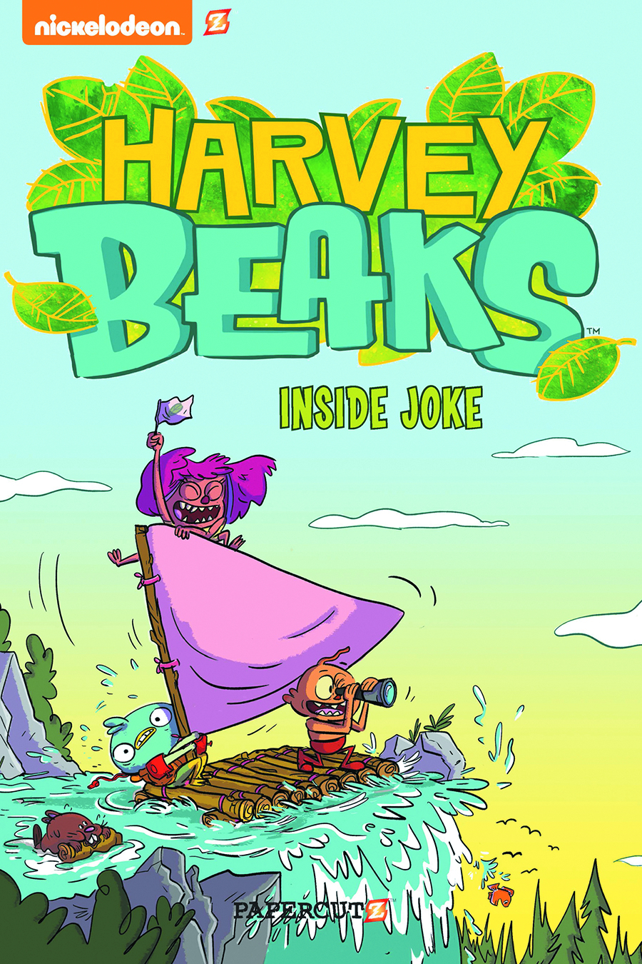 HARVEY BEAKS HC VOL 01 INSIDE JOKE