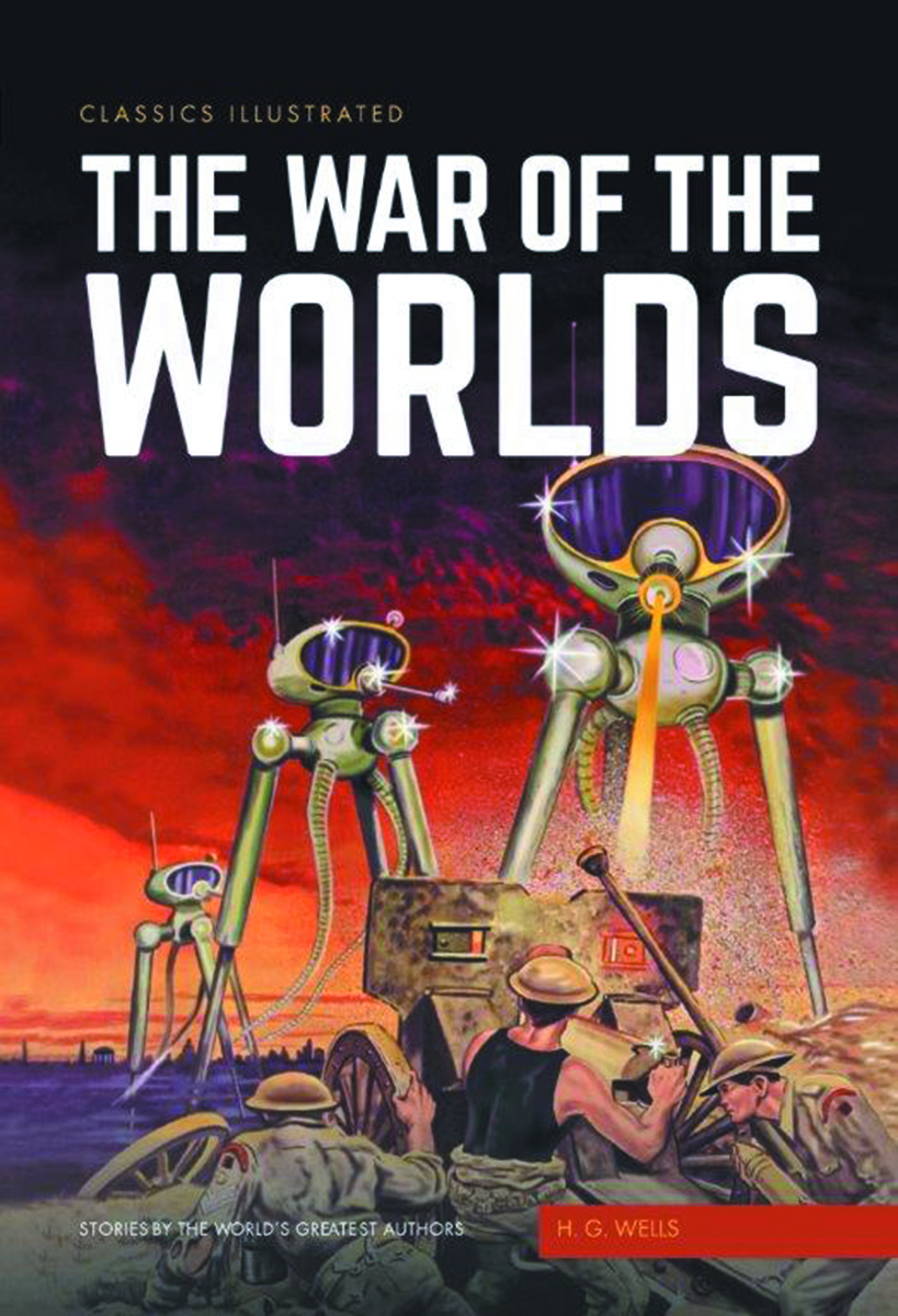 CLASSIC ILLUSTRATED TP #1 WAR OF THE WORLDS