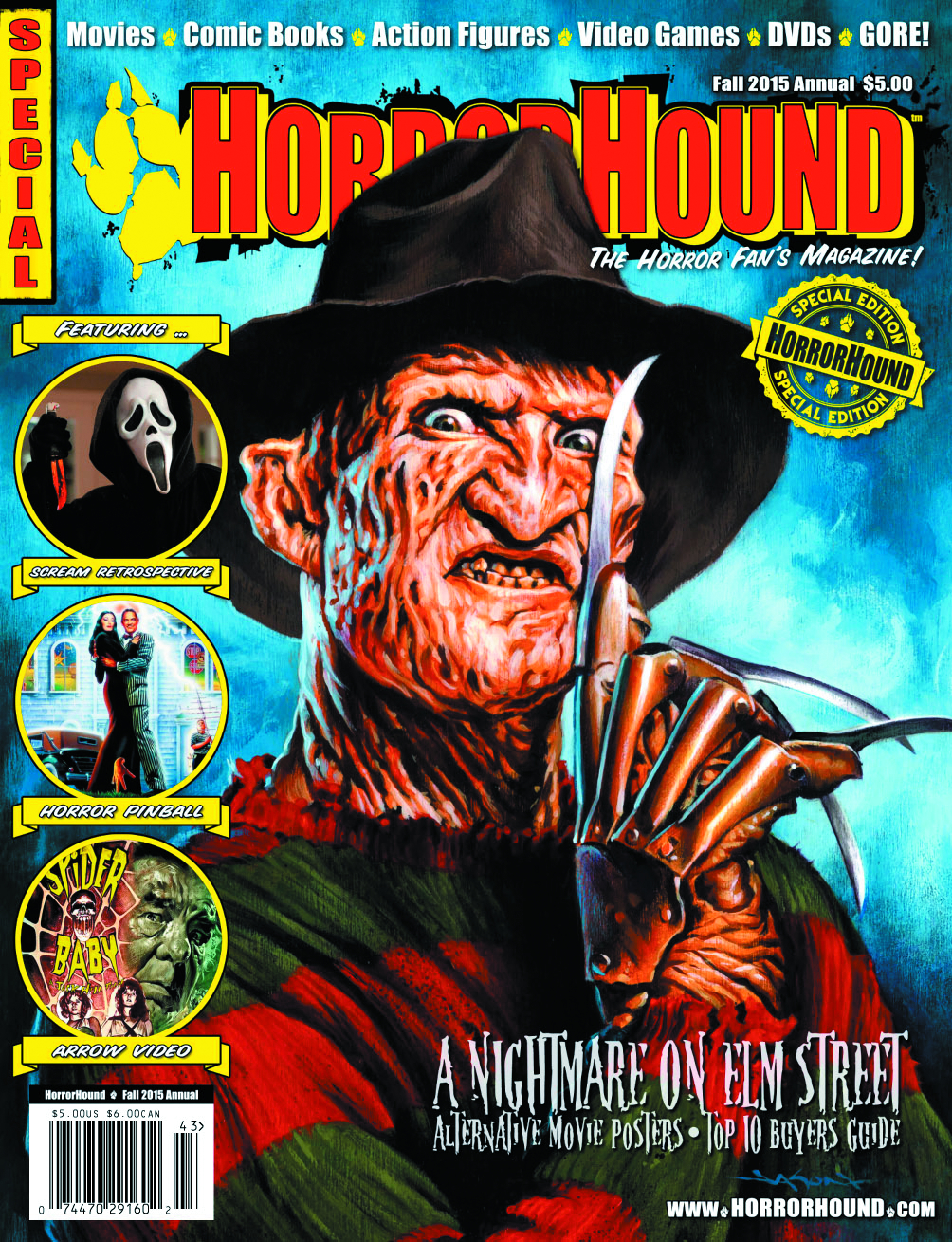 HORRORHOUND 2015 FALL ANNUAL SPECIAL