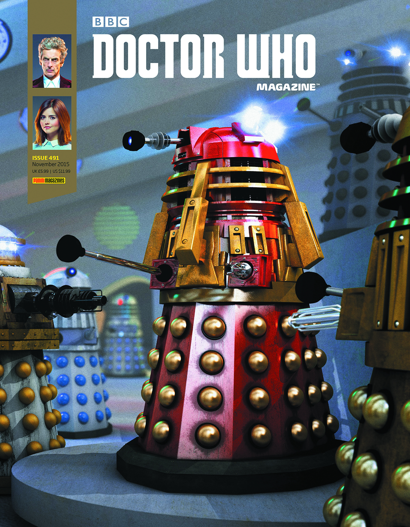 DOCTOR WHO MAGAZINE #495