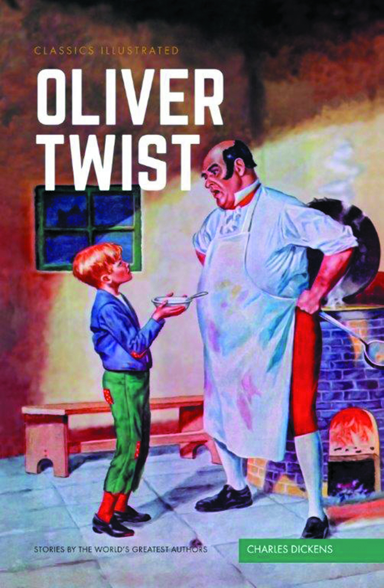 CLASSIC ILLUSTRATED TP OLIVER TWIST