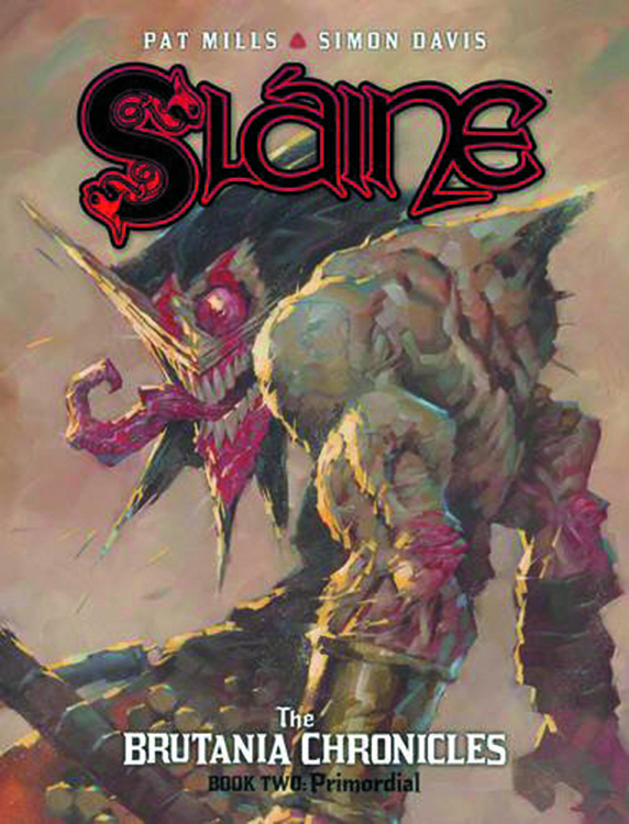 SLAINE BRUTANIA CHRONICLES HC VOL 02