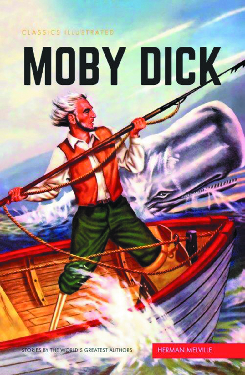CLASSIC ILLUSTRATED TP MOBY DICK