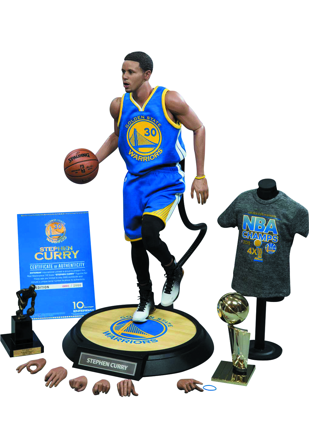 c412df5aeb5e AUG158580 - STEPHEN CURRY REAL MASTERPIECE 1 6 SCALE AF - Previews World