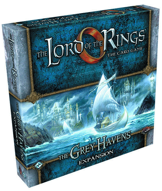 LORD RINGS LCG THE GREY HAVENS DELUXE EXP