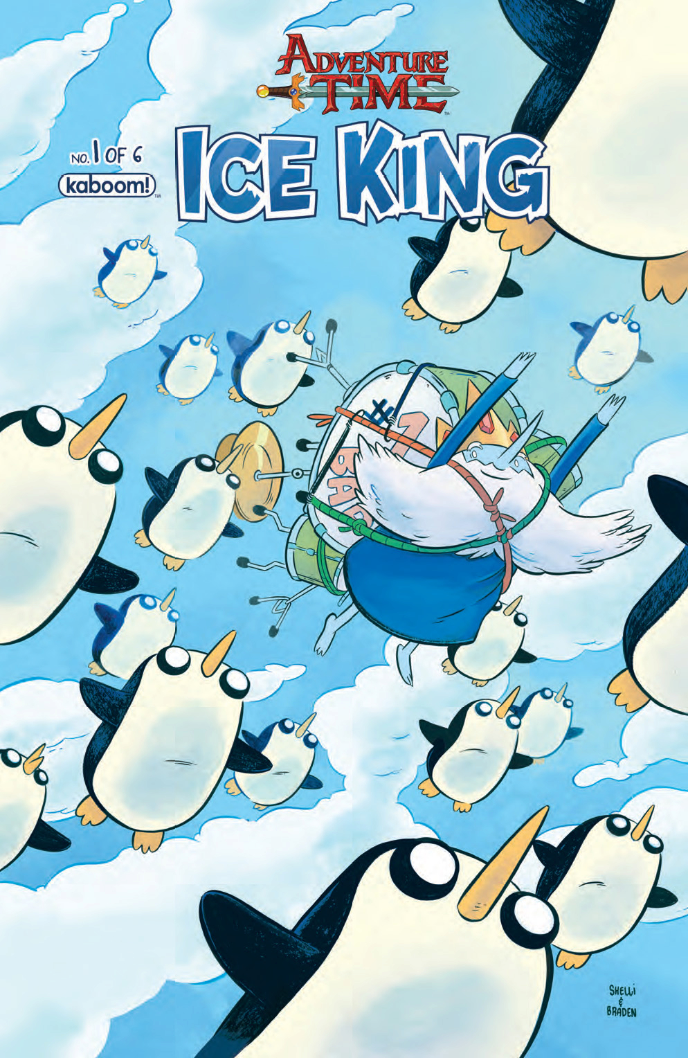 ADVENTURE TIME ICE KING #1