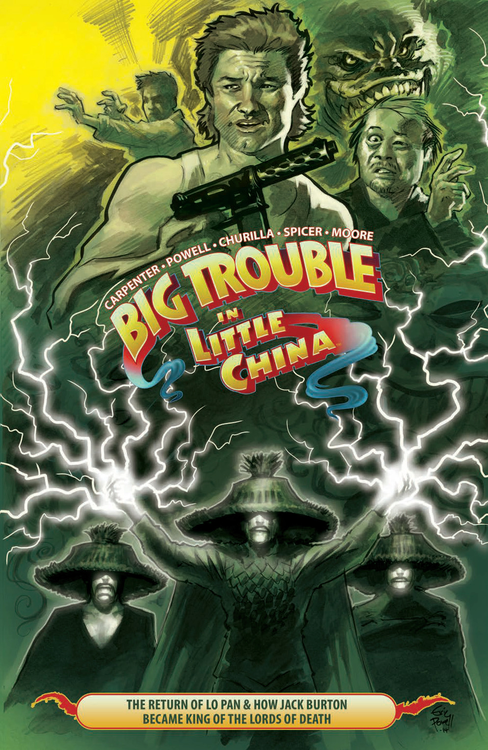 BIG TROUBLE IN LITTLE CHINA TP VOL 02