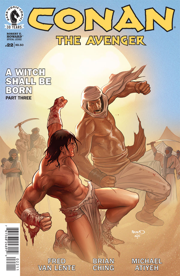 CONAN THE AVENGER #22