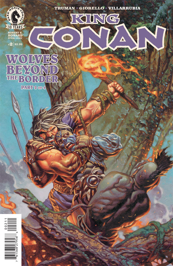 KING CONAN WOLVES BEYOND THE BORDER #2