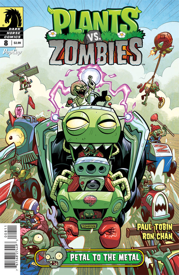 PLANTS VS ZOMBIES ONGOING #8 PETAL TO THE METAL