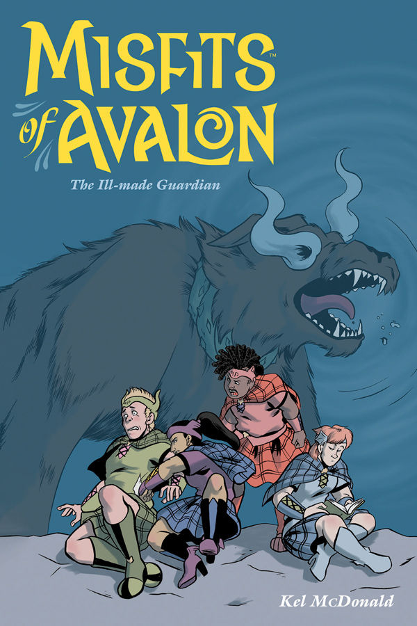MISFITS OF AVALON TP VOL 02 THE ILL MADE GUARDIAN